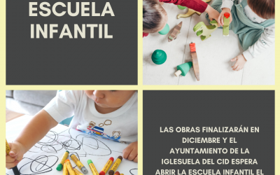 La Iglesuela del Cid prevé abrir la Escuela Infantil a principios de 2021