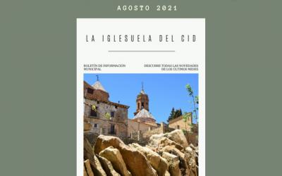Boletín de Información Municipal. Agosto 2021
